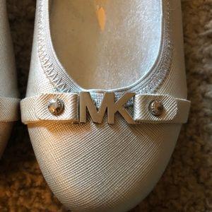 MICHAEL Michael Kors Shoes - Michael Kors Women's Ballet Flats Size 2 Silver